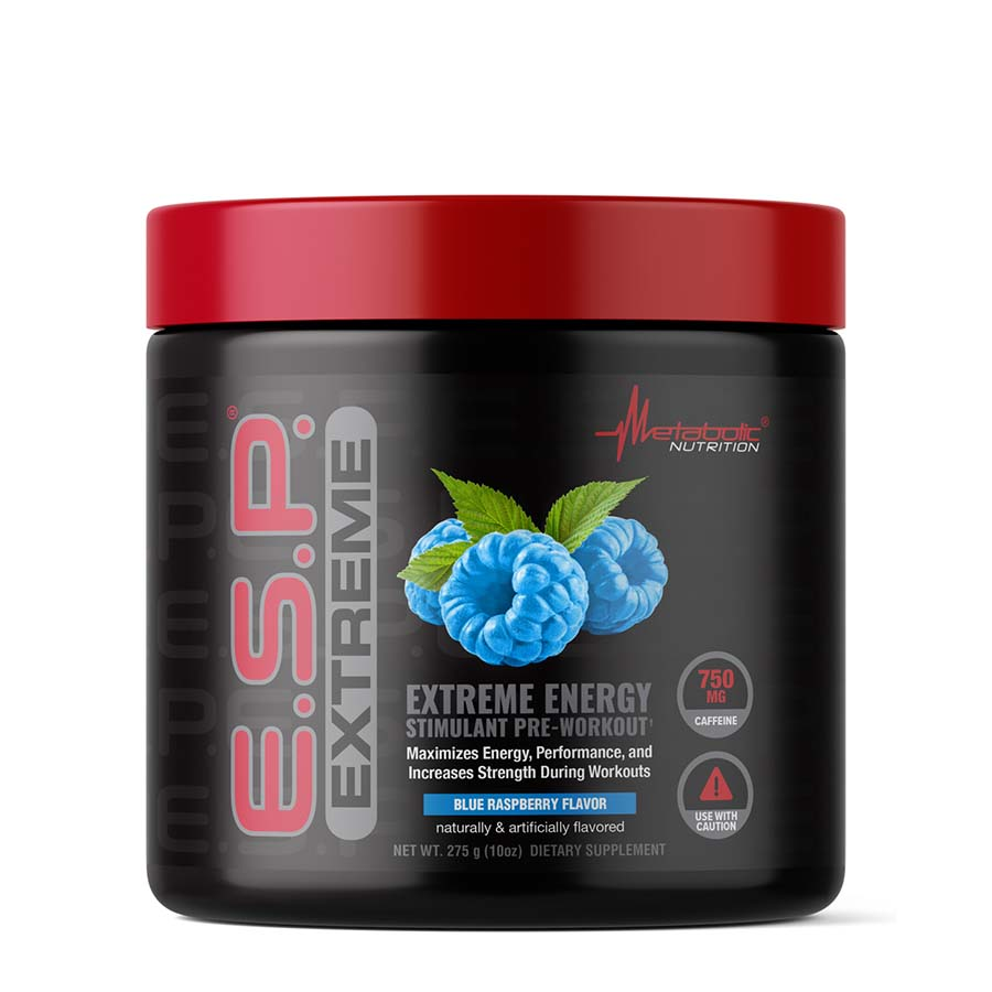 METABOLIC NUTRITION E.S.P. EXTREME (50 serve) 275g Blue Raspberry