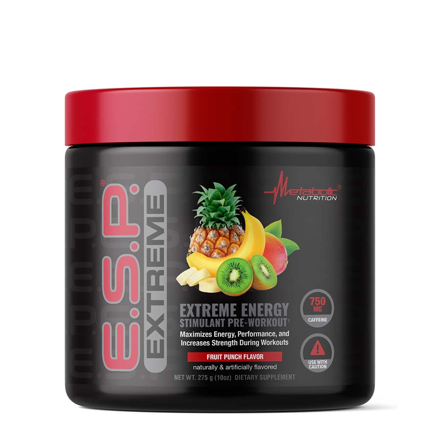 METABOLIC NUTRITION E.S.P. EXTREME (50 serve) 275g Fruit Punch