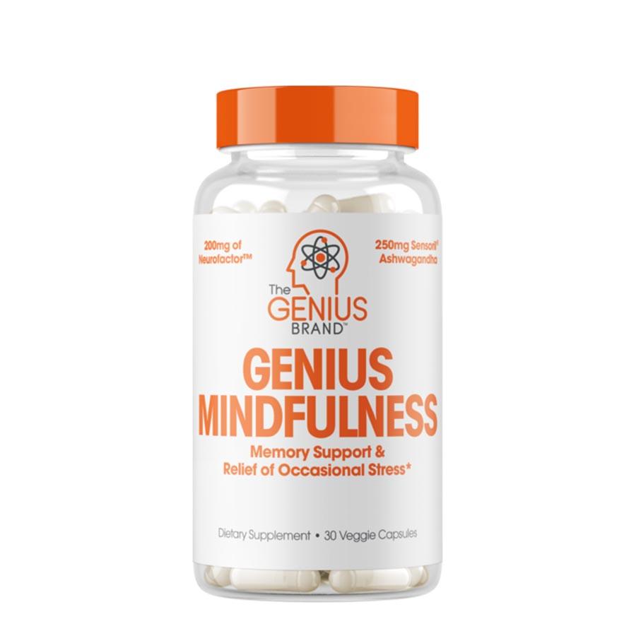 The Genius Brand Mindfulness (30 Serve) 30 Veggie Capsules