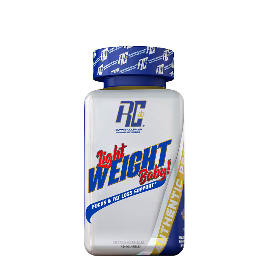 Ronnie Coleman Light Weight Baby! (60 Serve) 60 Capsules