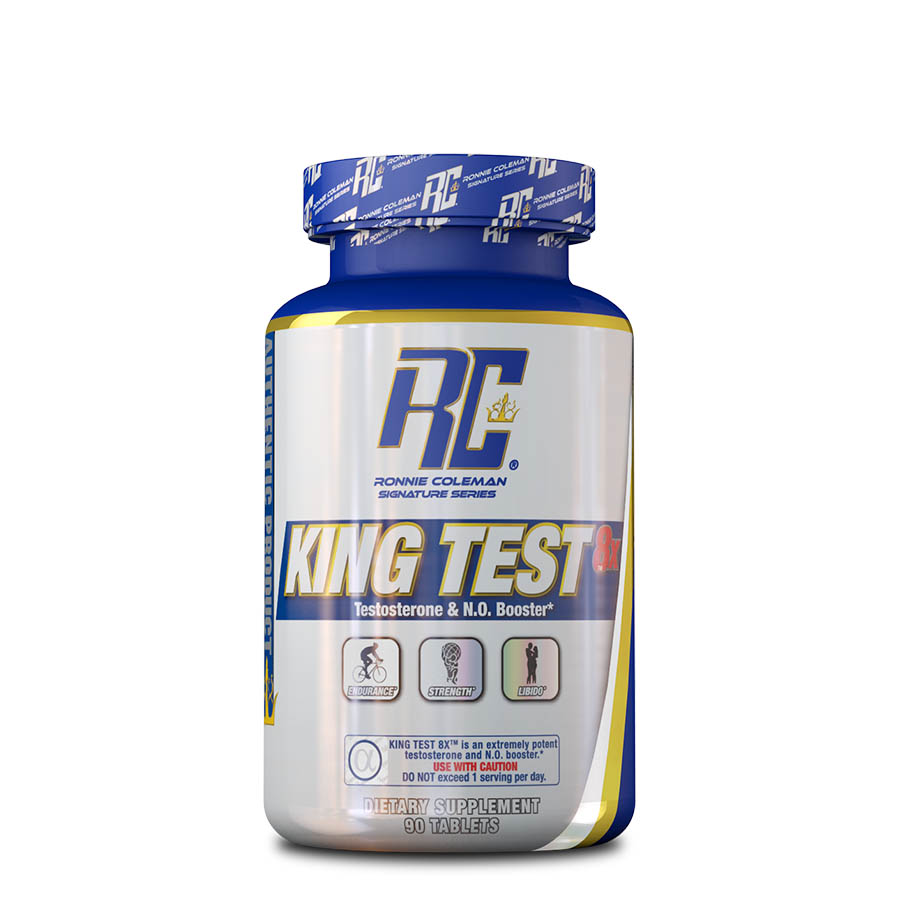 Ronnie Coleman King Test 8X (15 serve) 90 Tablets