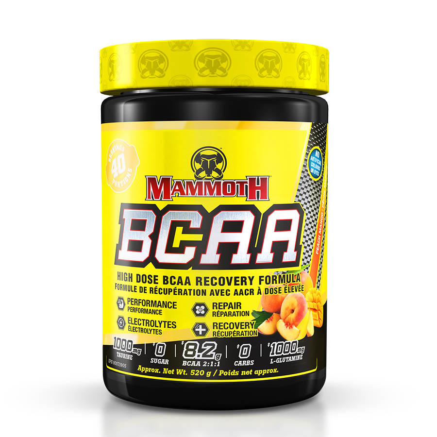 Mammoth BCAA (40 Serve) 520g