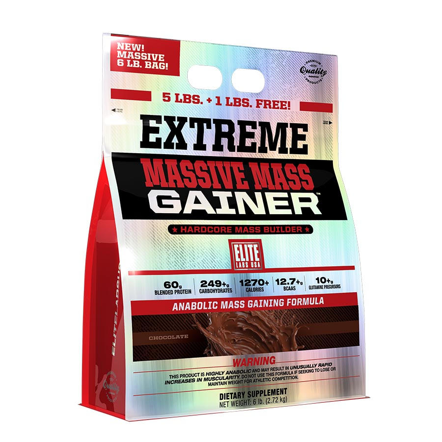 Elite Labs USA Extreme Massive Mass Gainer 2.27kg