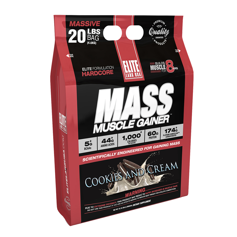 Elite Labs USA Mass Muscle Gainer 9kg