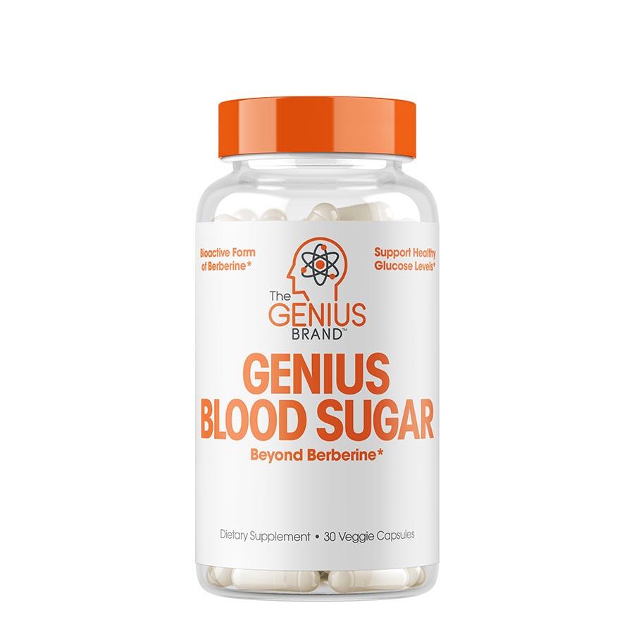 The Genius Brand Blood Sugar (30 Serve) 30 Veggie Capsules