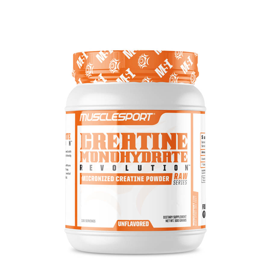 Muscle Sport Creatine Monohydrate (100 Serve) 500g