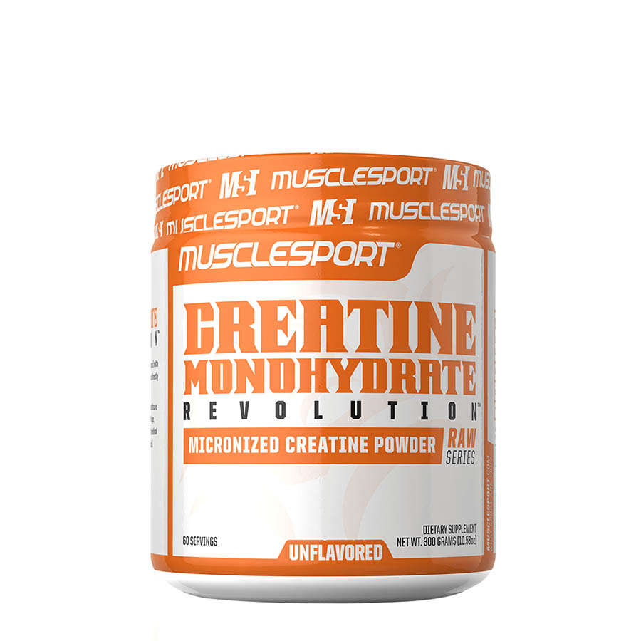 Muscle Sport Creatine Monohydrate (60 Serve) 300g