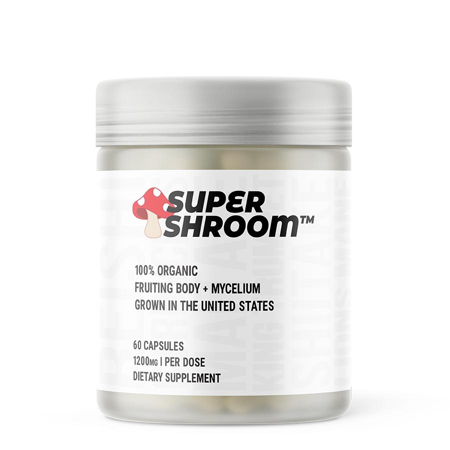 Glaxon Super Shroom (30 Serve) 60 Capsules
