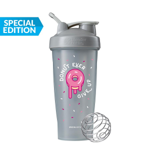 Blender Bottle Classic 'Just For Fun' (825ml) Donut Ever Give Up