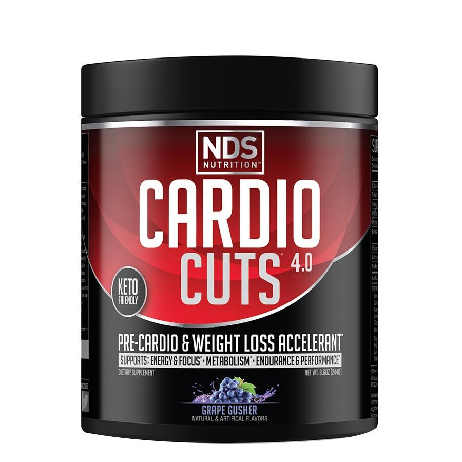 NDS Cardio Cuts 4.0 (40 Serve) 244g