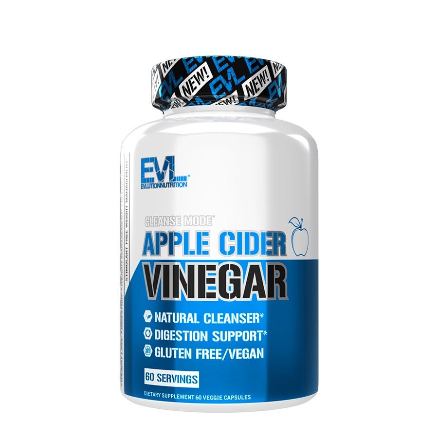 EVL Nutrition Apple Cider Vinegar (60 Serve) 60 Capsules