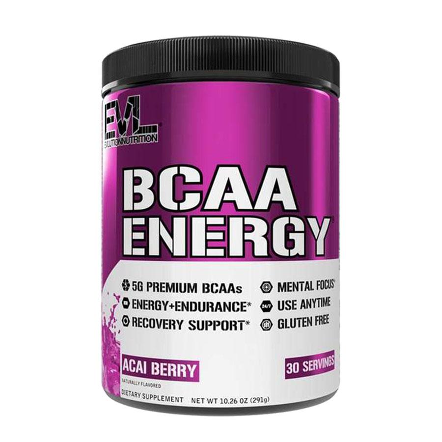 EVL Nutrition BCAA Energy (30 Serve) 300g