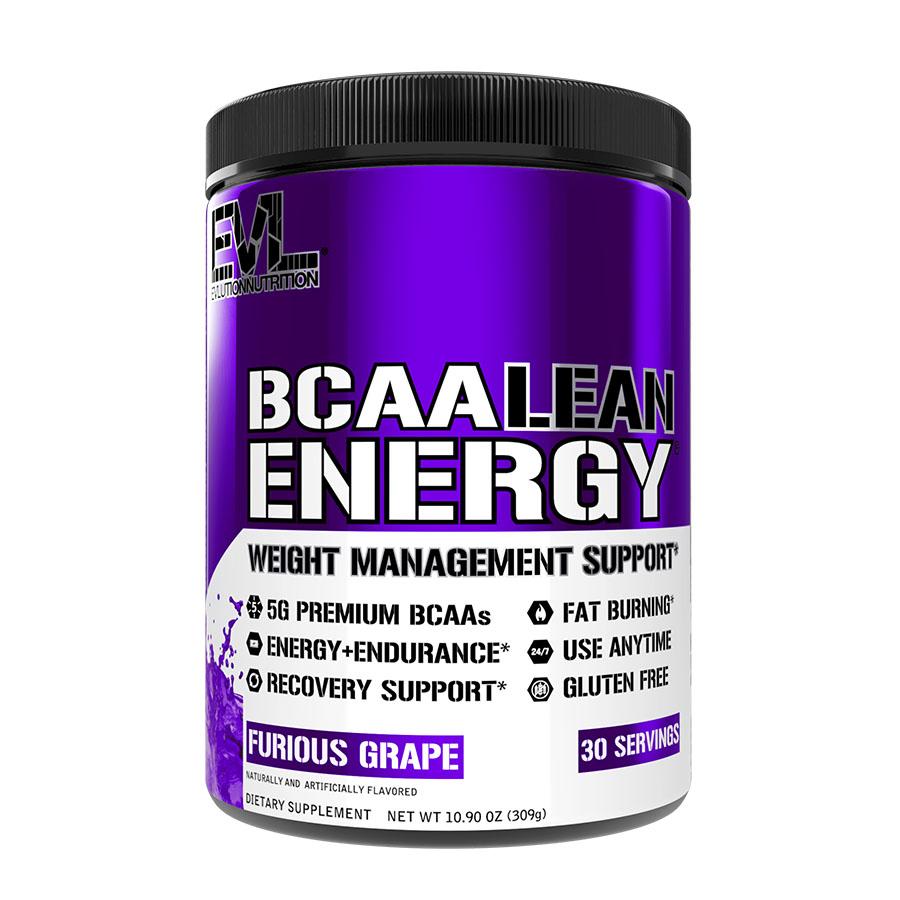 EVL Nutrition BCAA Lean Energy (30 Serve) 321g